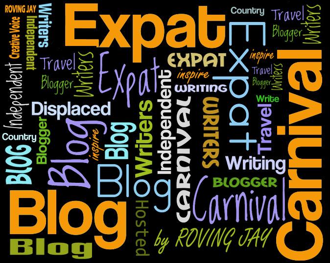 Expat Blog Carnival Logo by Roving Jay