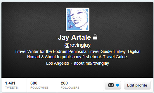 My Twitter Screen