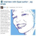 Expat Author Interview at Blog Expat