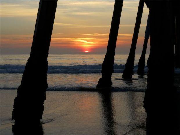 Hermosa Beach Pier California