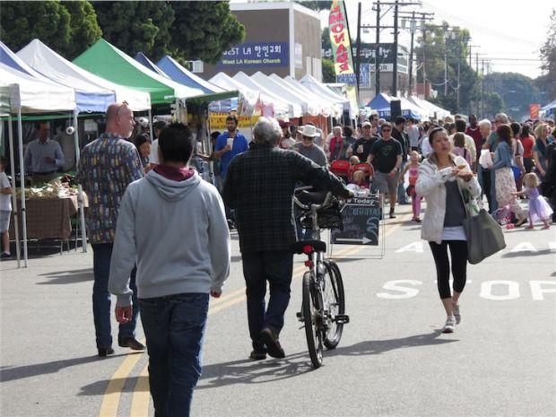 Mar Vista Market Los Angeles California