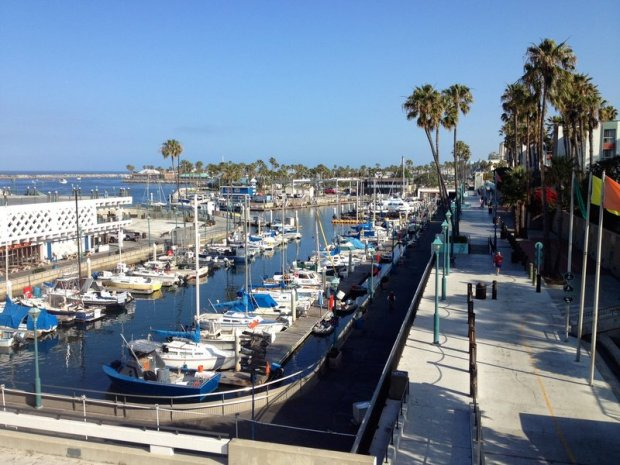 Redondo Beach California House sitting walk