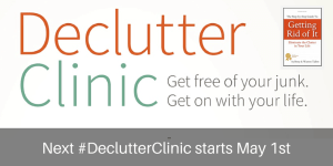 Don't let Clutter hold you back