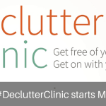 Declutter Clinic Twitter Post by Roving Jay