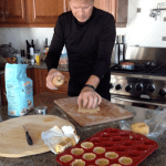 Making Mince Pies for Christmas