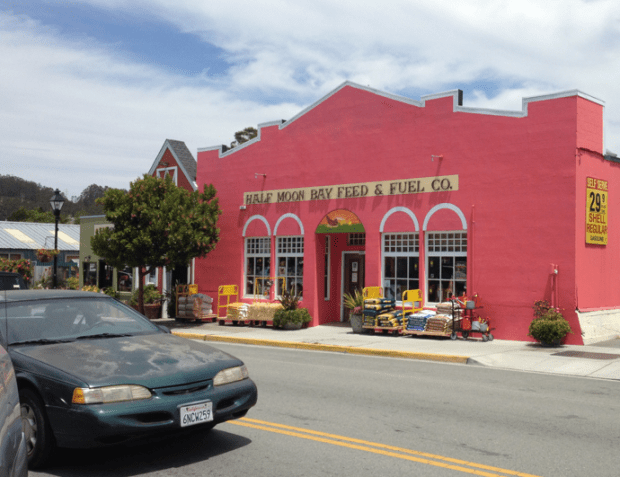 Half Moon Bay Main Street California