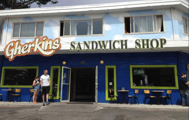 Gherkins Sandwich Shop Montara