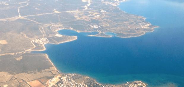 Bodrum Area Coastline Bodrum Airport Arrival