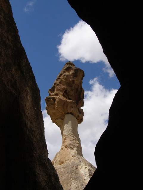 Ann Mershon One of the many fairy chimneys in Cappadocia Turkey