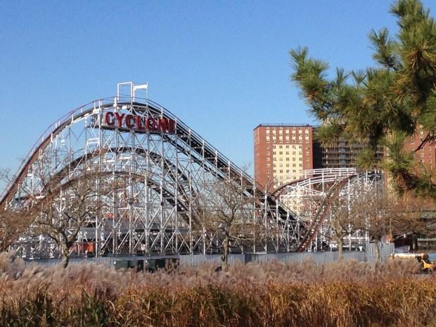 Cyclone Coney Island Brooklyn NYC