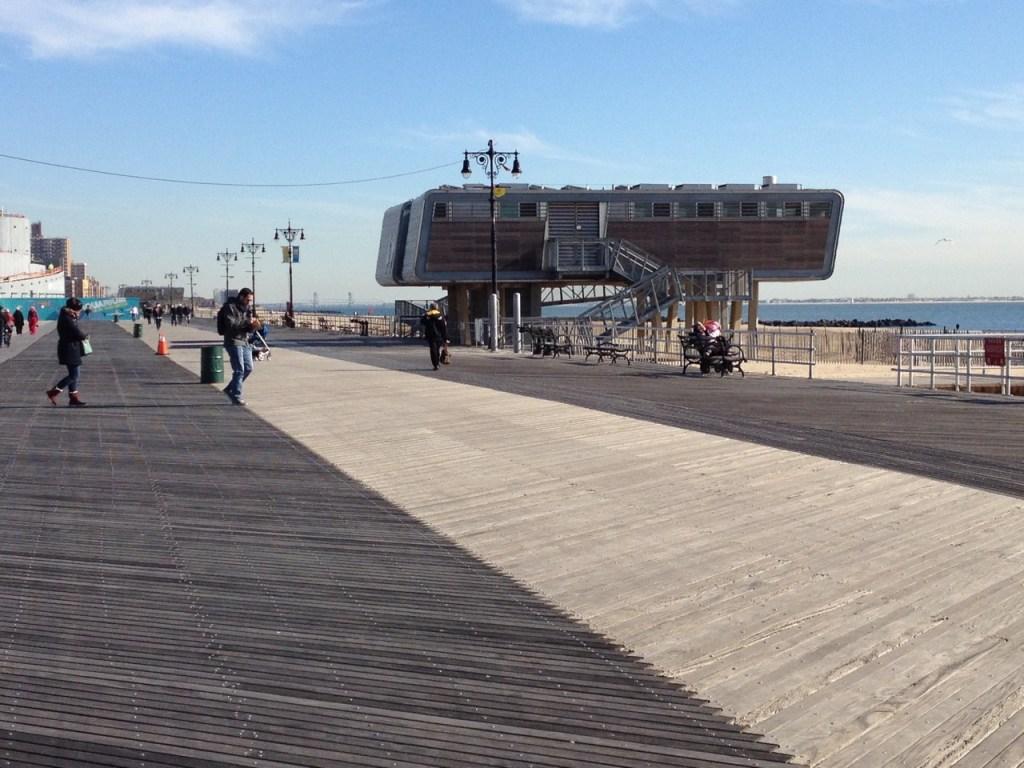 Boardwalk Coney Island Brooklyn NYC