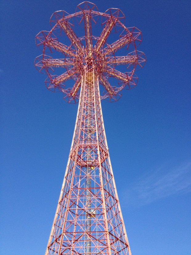 Parachute Jump Coney Island Brooklyn NYC