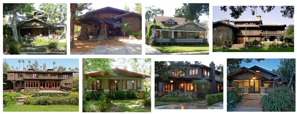 Craftsman Style Homes in Pasadena