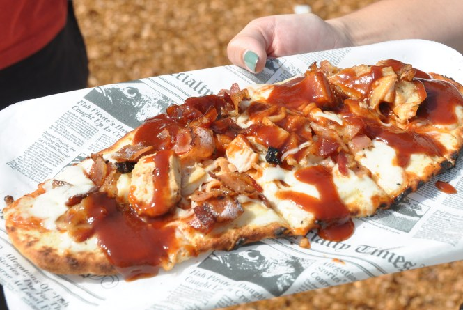Bacon BBQ Flatbread