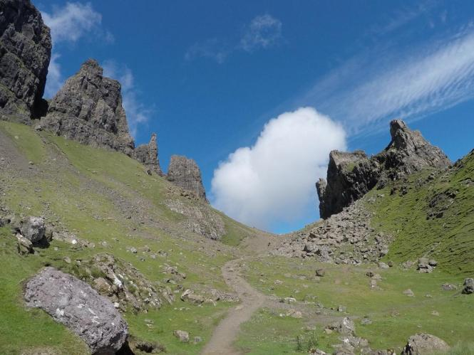 Hiking Trails in Skye