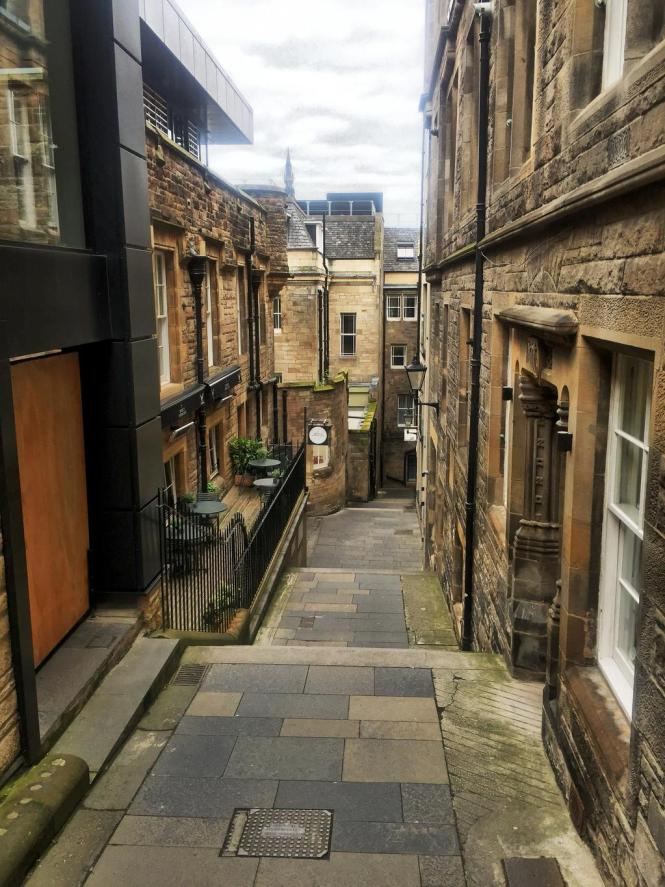 One of the Closes of Edinburgh