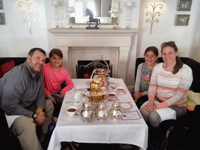 Afternoon tea at the Royal Horseguards in London