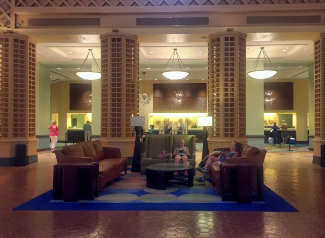 Lobby and check in Dolphin Hotal