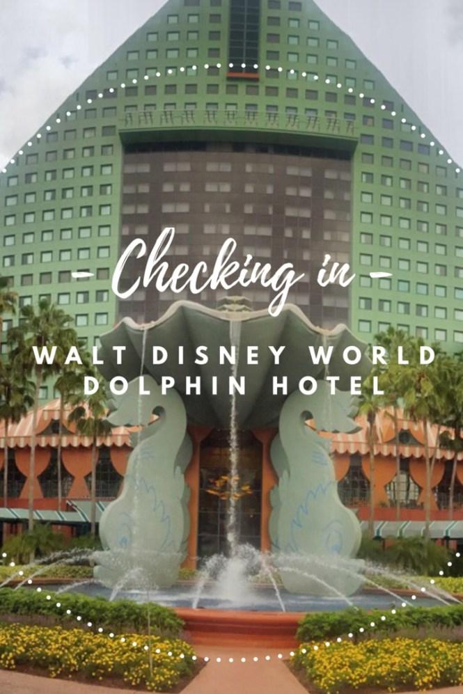 Checkin in - Dolphin Hotel