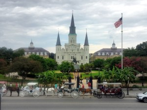 Haunted New Orleans and St. Louis Cathedral