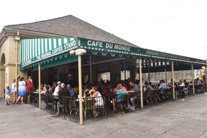 Patio at Cafe Du Monde