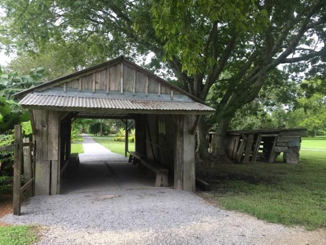 Barn at Laura Plantation