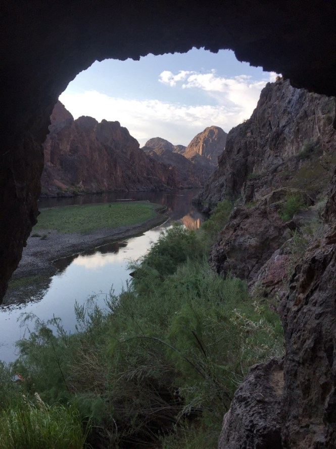 Sauna Cave in the Black Canyon