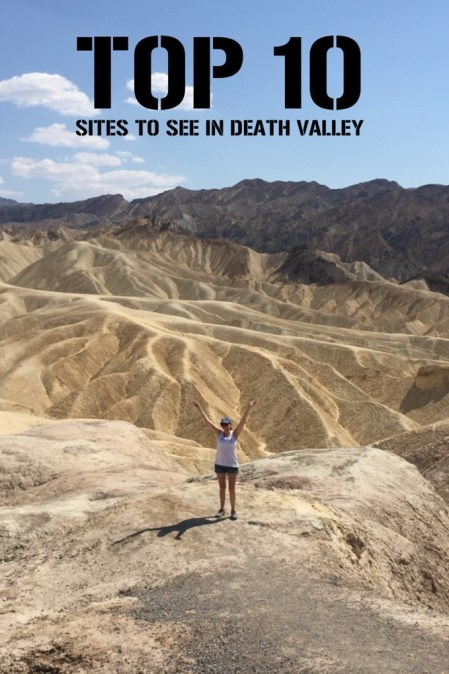 Death Valley top 10 sites to visit