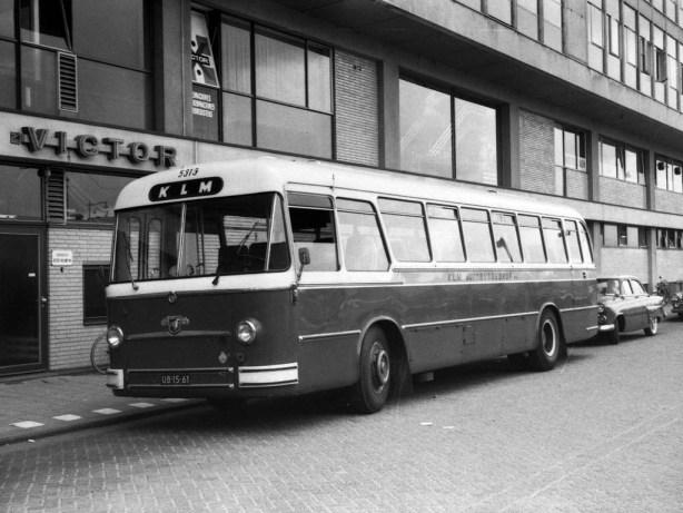 KLM bus 5313, Doelstraat, 1964