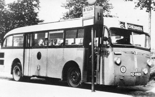 Bus 119, Kromhout-Verheul, lijn S,
