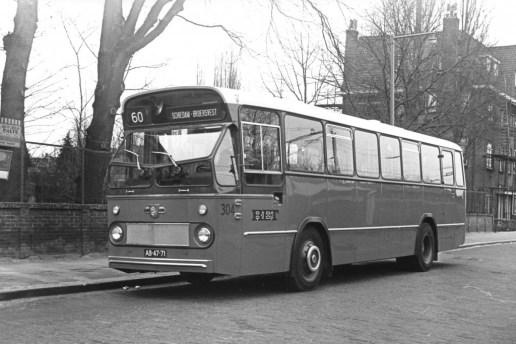 Bus 304, Leyland-Leopard, lijn 60, Ceintuurbaan, 1967