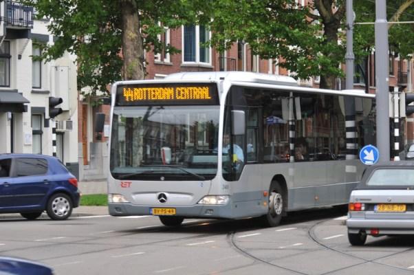 Bus 349, Citaro-Mercedes, Omleiding diverse lijnen in verband met het Zomercarnavel op 30-7-2011, lijn 44,