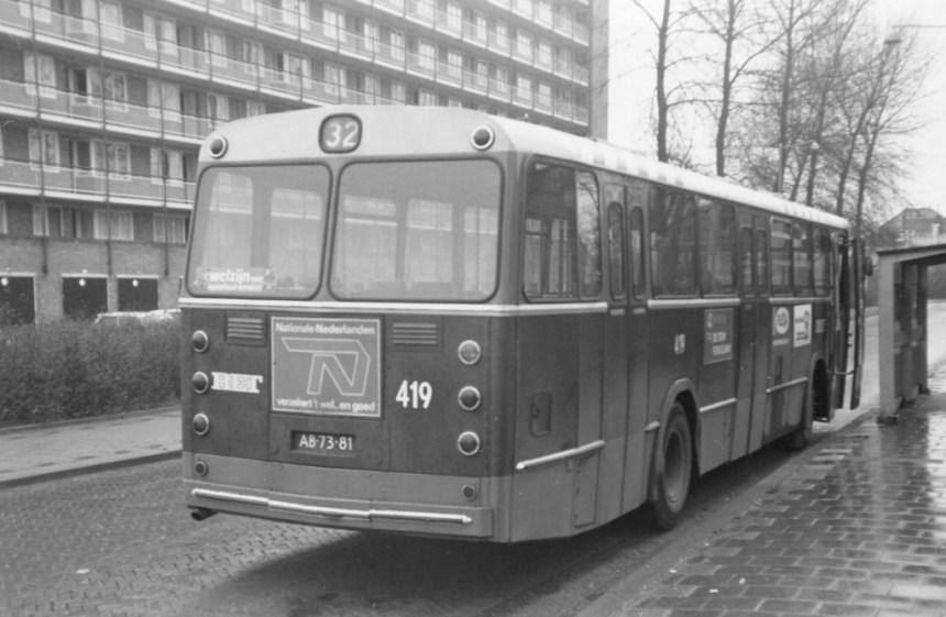Bus 419, DAF-Hainje, lijn 32, Van Noortwijckstraat