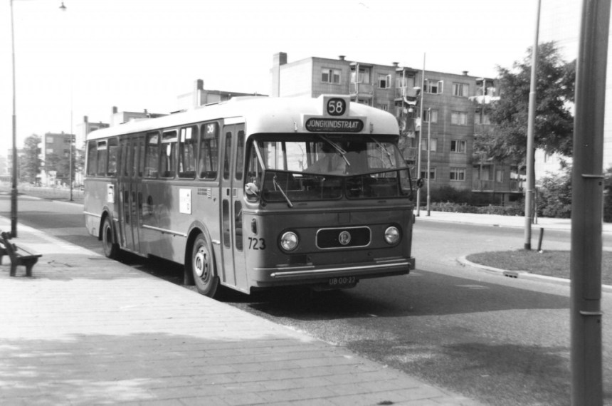 Bus 723, Verheul-Werkspoor, lijn 58, Slinge