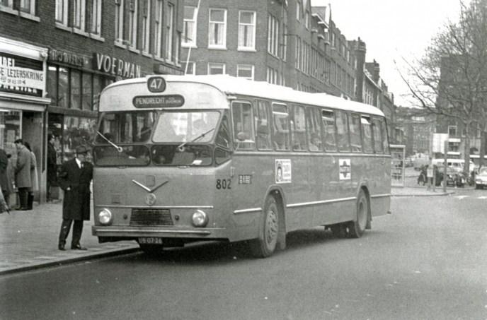 Bus 802, Verheul-MAN, lijn 47, Beijerlandselaan