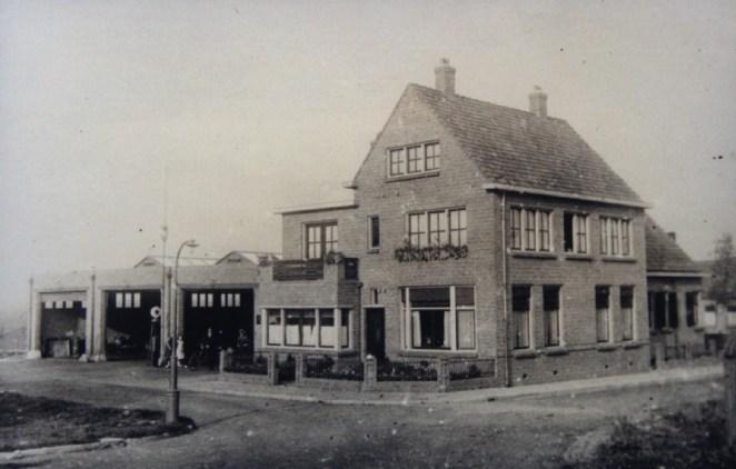 M.E.G.G.A. garage, Alexanderstraat, Capelle aan den IJssel, ca. 1940
