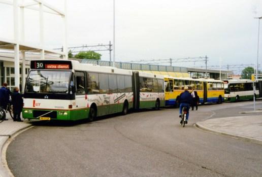 Busvervoer bij de NS, ook wanneer de treinen het laten afweten.