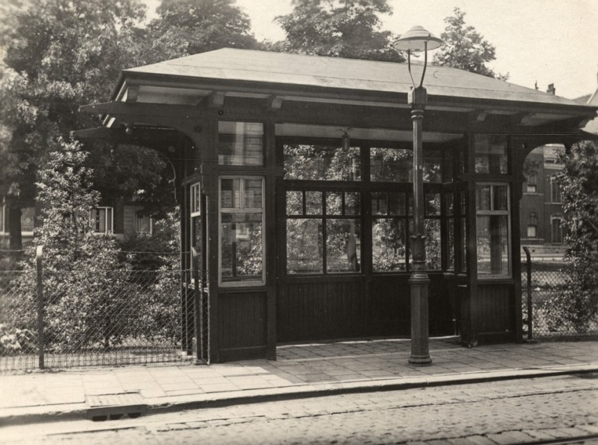 Wachthuisje Mauritsweg, 1930