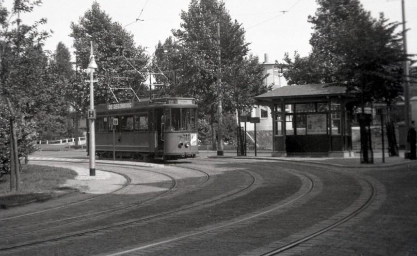 Wachthuisje Proveniersplein-Spoorsingel, 1935