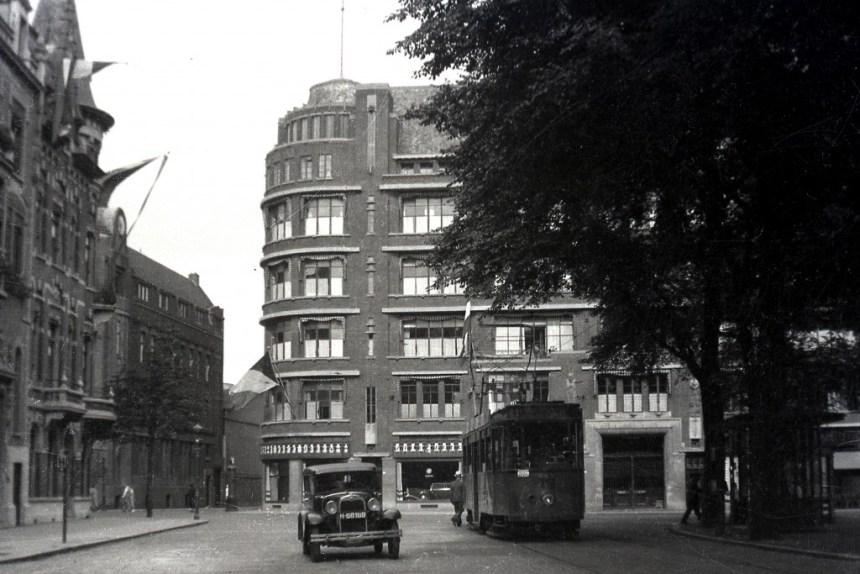 Wachthuisje Westplein, 1932