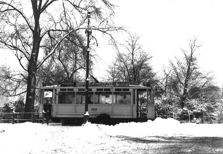 EMR 159, lijn 1, Honingerdijk ca. 1925