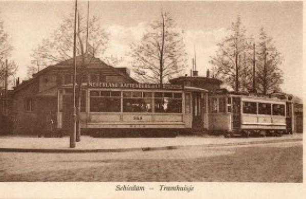 AHR 358 lijn 8 Koemarkt Schiedam ca 1915