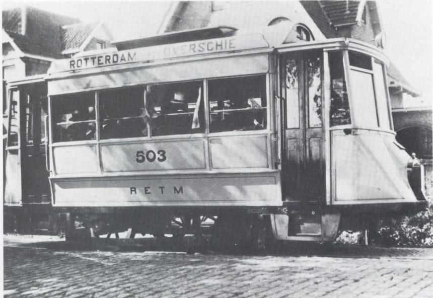 Motortram 503 Rotterdamse Rijweg 1926
