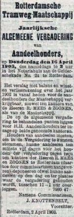 19030403 Aandeeelhoudersvergadering. (RN)