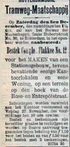 19031119 Aanbesteding. (RN)