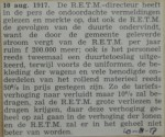 19170810-discussie-tariefsverhoging, verzameling Hans Kaper