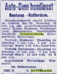 19201020 Autobusdienst Boskoop-Rotterdam (RN)