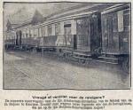 19260529 Nieuwe spoorwagons voor de lijn Amsterdam-Rotterdam (RN)
