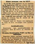 19300525 Nieuw materieel voor de RET