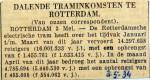 19340503 Dalende traminkomsten Rotterdam